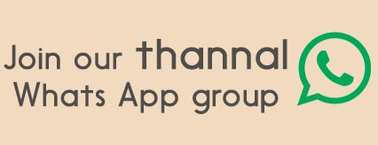 Contact Thannal Natural homes whats app