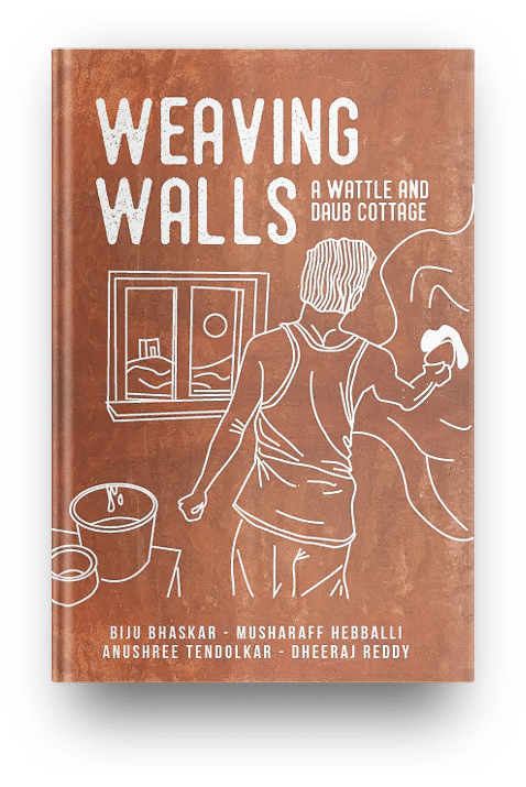 Weaving wall natural building book india 7